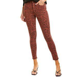 NWT Joe's Jeans leopard high rise ankle cut jeans